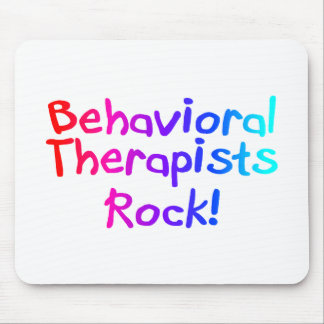 Behavioral Therapists Rock Mouse Pad