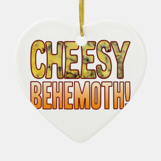 Behemoth Blue Cheesy Ceramic Heart Decoration