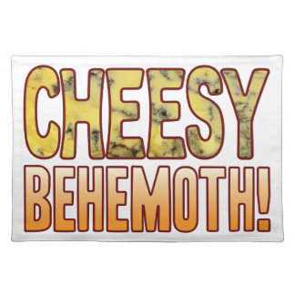 Behemoth Blue Cheesy Place Mats
