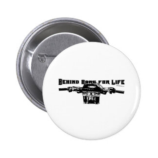 Behind Bars For Life – Motocross 6 Cm Round Badge