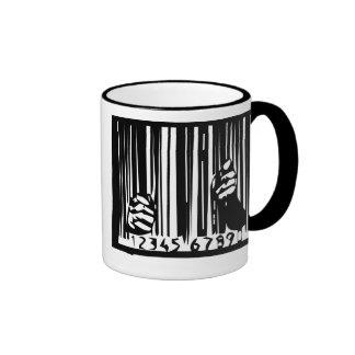 Behind Bars Coffee Mugs
