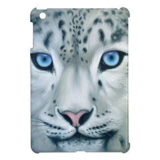 Behind Blue Eyes - Snow Leopard iPad Mini Covers
