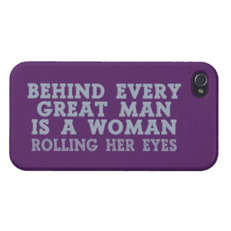 Behind Every Man custom iPhone cases iPhone 4 Cases