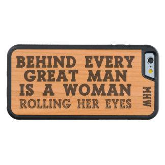 Behind Every Man custom monogram cases