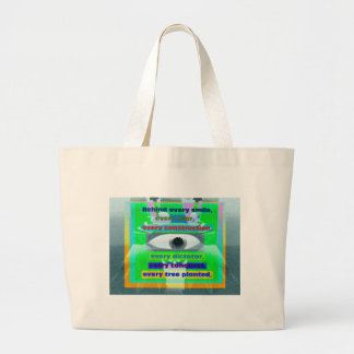 Behind every smile tear and tree planted tote bags