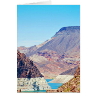 """Behind Hoover Dam"" collection Greeting Card"