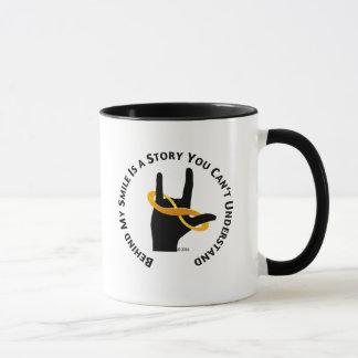 """""""Behind My Smile is a Story..."""" 11 oz Coffee Mug"""