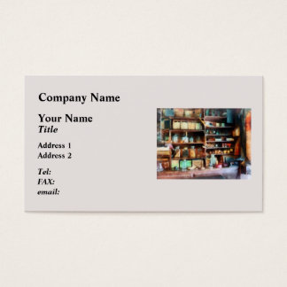 Behind the Counter at the General Store Business Card