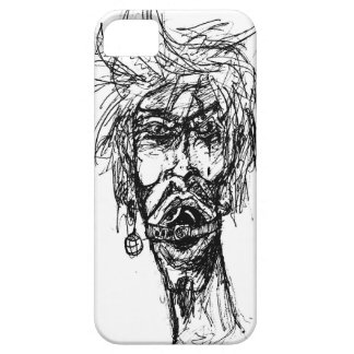 Behind the Eight Ball Gag Drawing iPhone 5 Cover