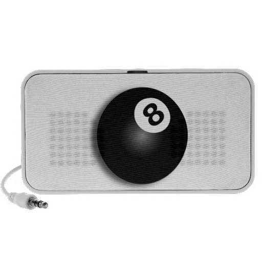 Behind The Eight Ball! Portable Speaker