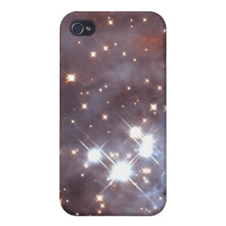 Behind the Gas and Dust of Orion's Trapezium Clust iPhone 4 Cover