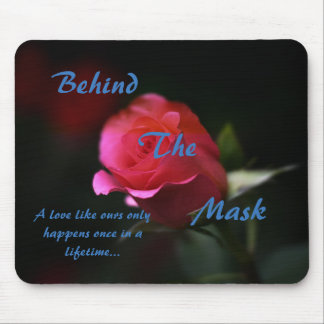 Behind the Mask Mouse Pad
