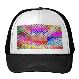 BEHIVE Pattern:  Home of Honey Bees Mesh Hat