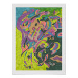 Behold, Original Abstract 12x16 Poster