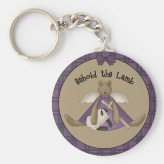 Behold the Lamb Keychain