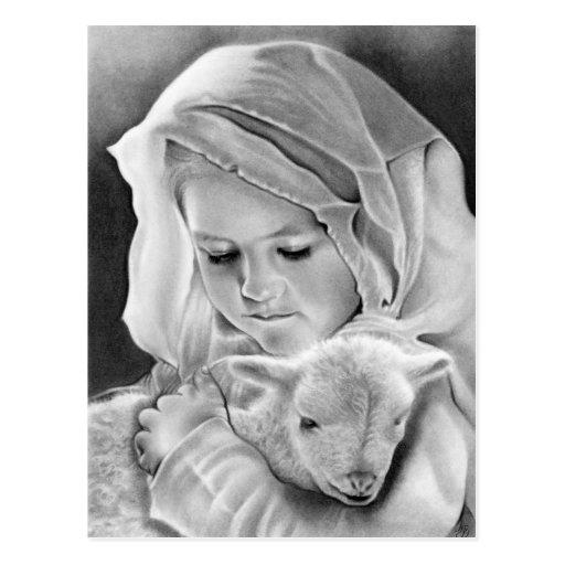 Behold the Lamb of God Postcard