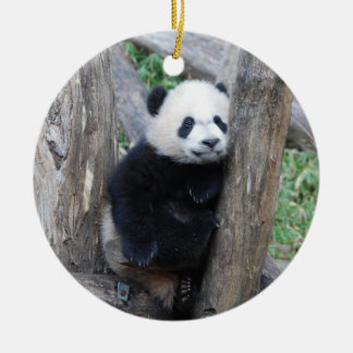 Bei Bei Giant Panda cub ornament