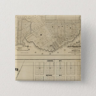 Beideman Tract, San Francisco 15 Cm Square Badge