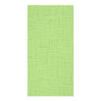 beige001 LIGHT GREEN SPRING CLOTH TEXTURES DIGITAL Card