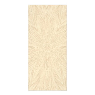 beige abstract pattern textured background full color rack card