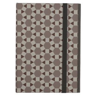 Beige and Browns Geometric Tessellation Pattern iPad Air Cover