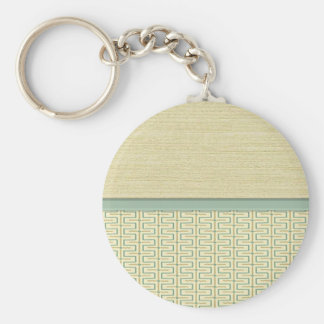 Beige and Green 2 Keychains