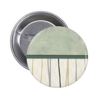 Beige and Green Mod Stripe 3 Pinback Buttons