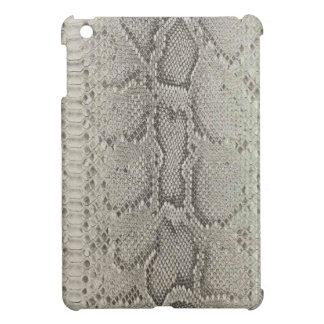 Beige&Black Snakeskin Print iPad Mini Covers
