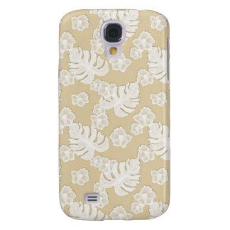 Beige Brown Floral Pattern Iphone 3g 3gs Speck Cas Galaxy S4 Case