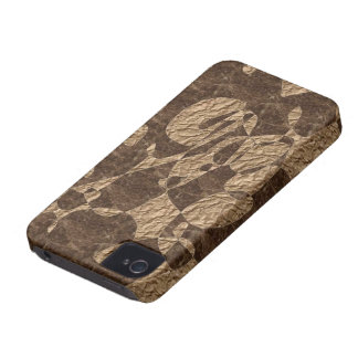 Beige Brown Marble Stone abstract iphone case