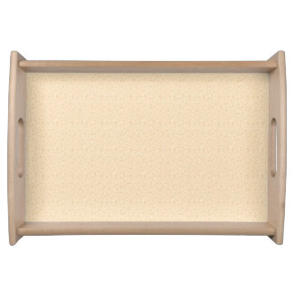 Beige Elegance Small Serving Tray