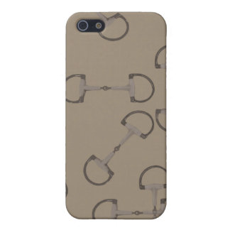 Beige Equestrian Horse Bits iPhone 5/5S Case