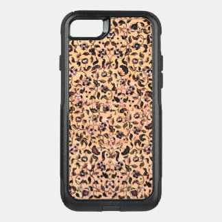 Beige Girly Floral Pattern  iPhone x Case Otterbox