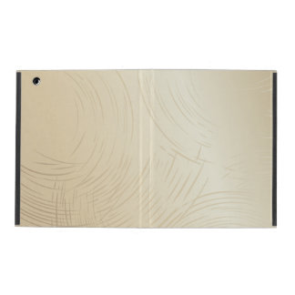 Beige iPad 2/3/4 Case with No Kickstand Cover For iPad