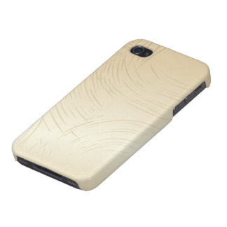 Beige iPhone 4 Glossy Finish Case iPhone 4 Cover