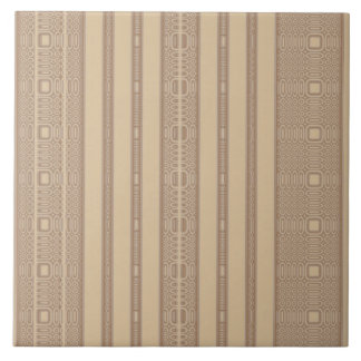 Beige Irregular Stripe Tile