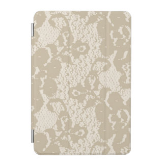 Beige lace iPad mini cover