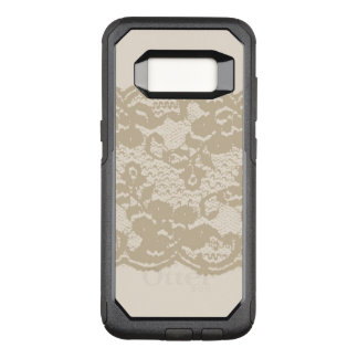 Beige lace OtterBox commuter samsung galaxy s8 case