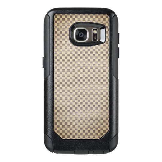 Beige Louis Vuitton style Samsung Cases