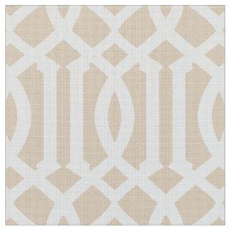 Beige Moroccan Pattern | Fabric