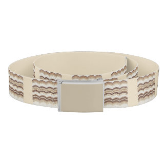 Beige Mosaic Belt