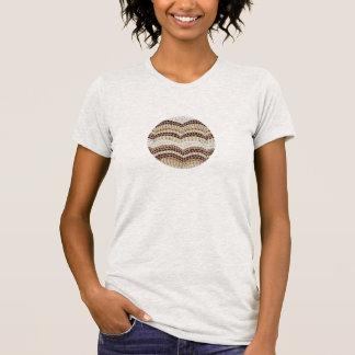Beige Mosaic Classic T-Shirt