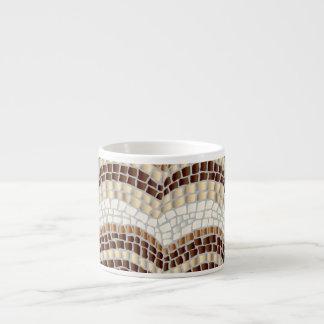 Beige Mosaic Espresso Mug