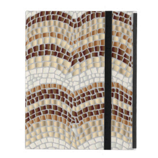 Beige Mosaic iPad 2/3/4 Case