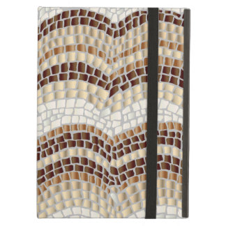 Beige Mosaic iPad Air Case