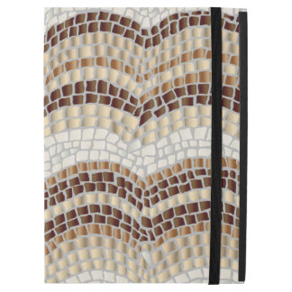 Beige Mosaic iPad Pro Case with No Kickstand