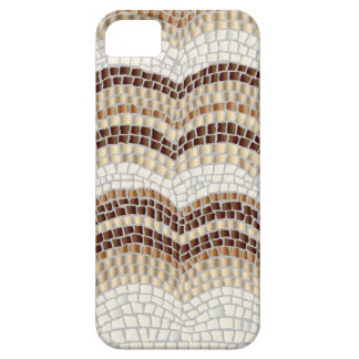 Beige Mosaic iPhone SE/5/5s Barely There Case