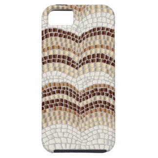 Beige Mosaic iPhone SE/5/5s Tough Phone Case