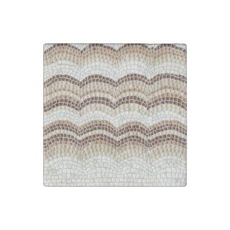 Beige Mosaic Marble Stone Magnet