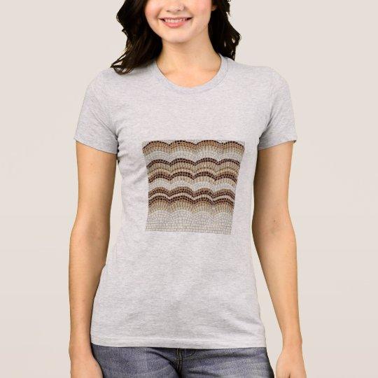 Beige Mosaic Women's Favourite Jersey T-Shirt